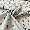 Wrinkle Cotton white Small Dragonfly