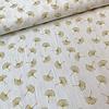 De Stoffenkamer Double Gauze Tetra Ginko off white