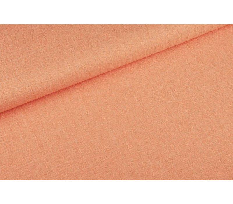 Soft Pantalon Linnenlook  Peachy Salmon