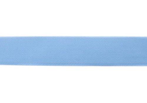 De Stoffenkamer Taille Elastiek 40mm oudblauw