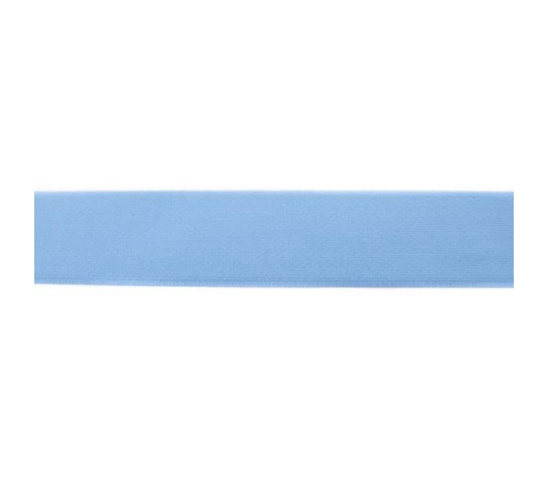 Taille Elastiek 40mm oudblauw