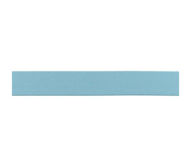Taille Elastiek 25mm Oudblauw