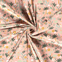 Tricot  Pinky Leafs