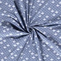 Tricot  midblue twigs