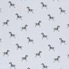 De Stoffenkamer Tricot  lightblue zebra