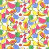 De Stoffenkamer Tricot  bright fruit basket