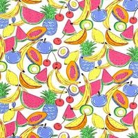 Tricot  bright fruit basket