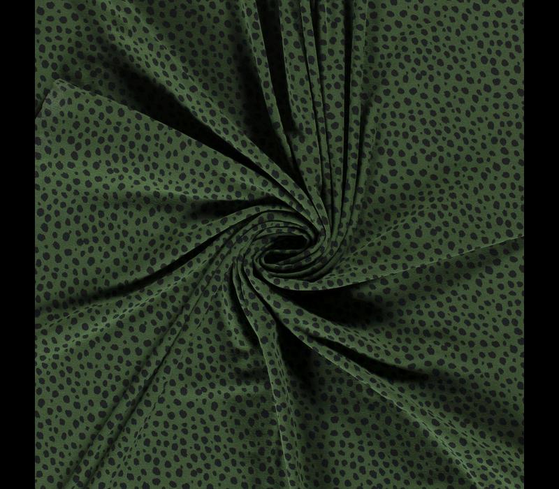 Tricot  Green Spots