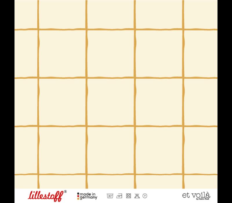 Tricot BIO - Grid Mustard