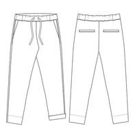 Patroon BROEK - Easy Pants