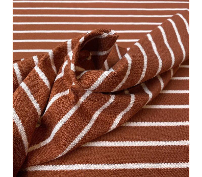 Sweater Stripes rust/pink
