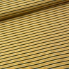 De Stoffenkamer Sweater Stripes mustard/green