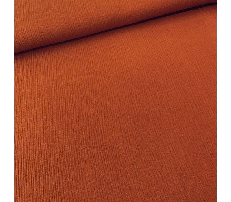 BIO Double Gauze - Rust