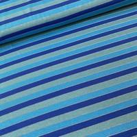 Tricot Summer Stripes metallic