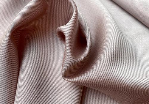 Bittoun Satin Viscose  pink stripes