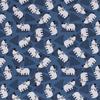 De Stoffenkamer Tricot  Indigo Rhino