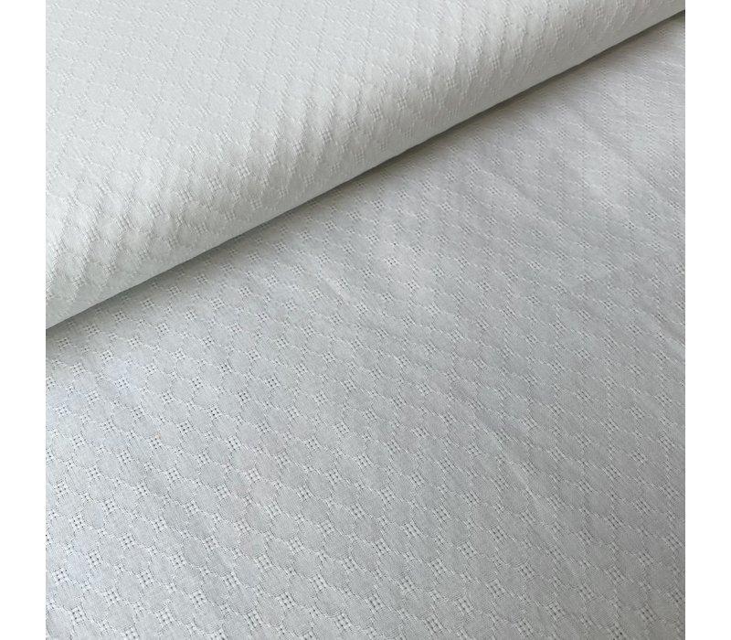 Ajour Cotton Pointelle - Off White