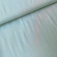 Ajour Cotton Pointelle - Soft sagegreen