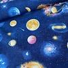 De Stoffenkamer Canvas blue Planet - Space