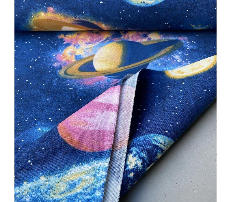 Canvas blue Planet - Space