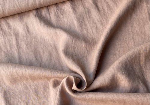 De Stoffenkamer Washed Linen Old Pink