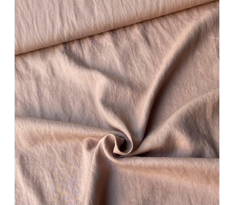 Washed Linen Old Pink