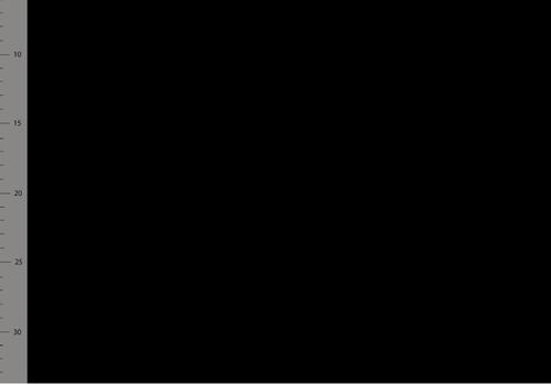 Elvelyckan Bio Ribbed tricot - Black