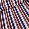 Editex Viscose Crepe Multi Stripes