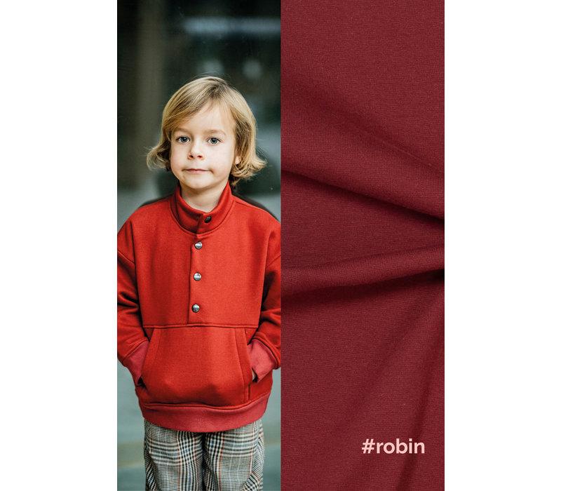 Warme Sweater Robin - Dark Brick