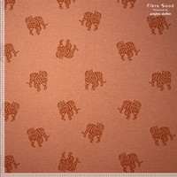 Jacquard Tricot Minnie - Rust