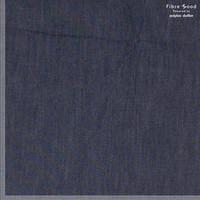 Chambray Cotton Denim  Debra - dark blue