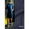 Fibre Mood Chambray Cotton Denim  Debra - dark blue