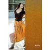 Fibre Mood Poplin Alix - Leather Brown
