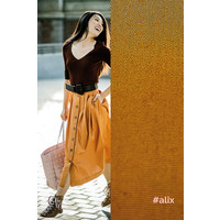 Poplin Alix - Leather Brown