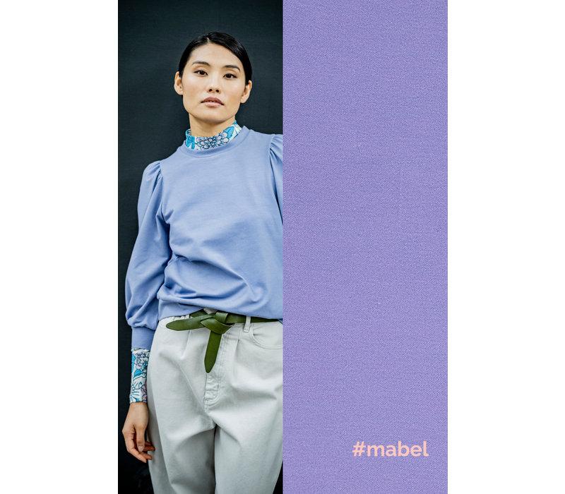 Denim Tricot Bio Mabel - Lila
