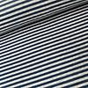 De Stoffenkamer Nicky Velours Stripes grey//Blue