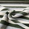 De Stoffenkamer Ribbed Nicky Velours Stripes  Green
