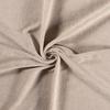 De Stoffenkamer Rekbare badstof - spons beige