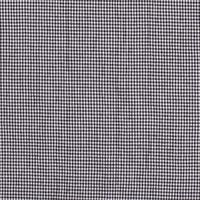 Seersucker Cotton - checks Black