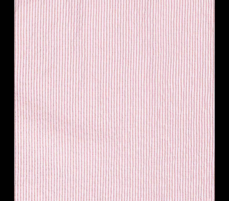 Seersucker Cotton - stripes Soft Pink