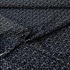 Cotton Geo Lines - black