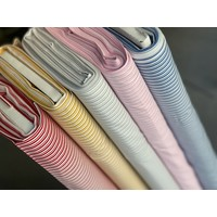 Cotton Classic Stripes - red