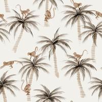Tricot Palms & Monkeys