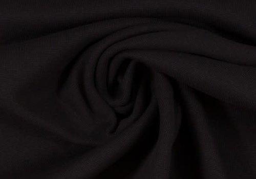 De Stoffenkamer Boordstof Zwart 90cm