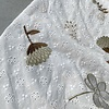 De Stoffenkamer Cotton Embroidery  Flowers