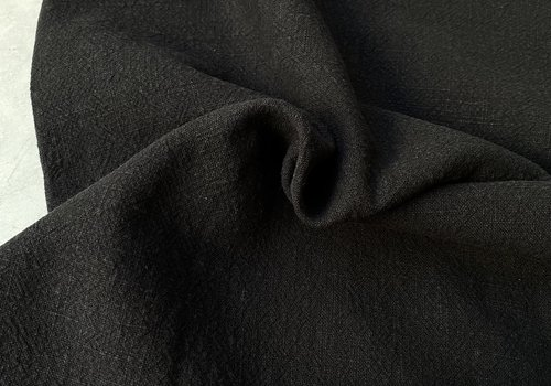 De Stoffenkamer Ramie Linenlook black