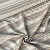 La Maison Victor Linen Mix Ecru Lines earthy