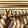 French Terry Oker Stripes