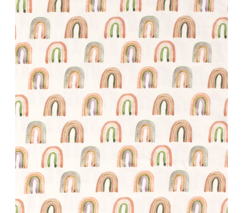 Tricot  Digital Drawn Rainbows