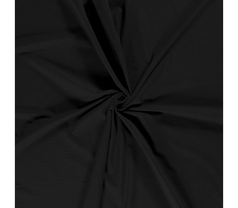 Ajour Cotton Pointelle - Black